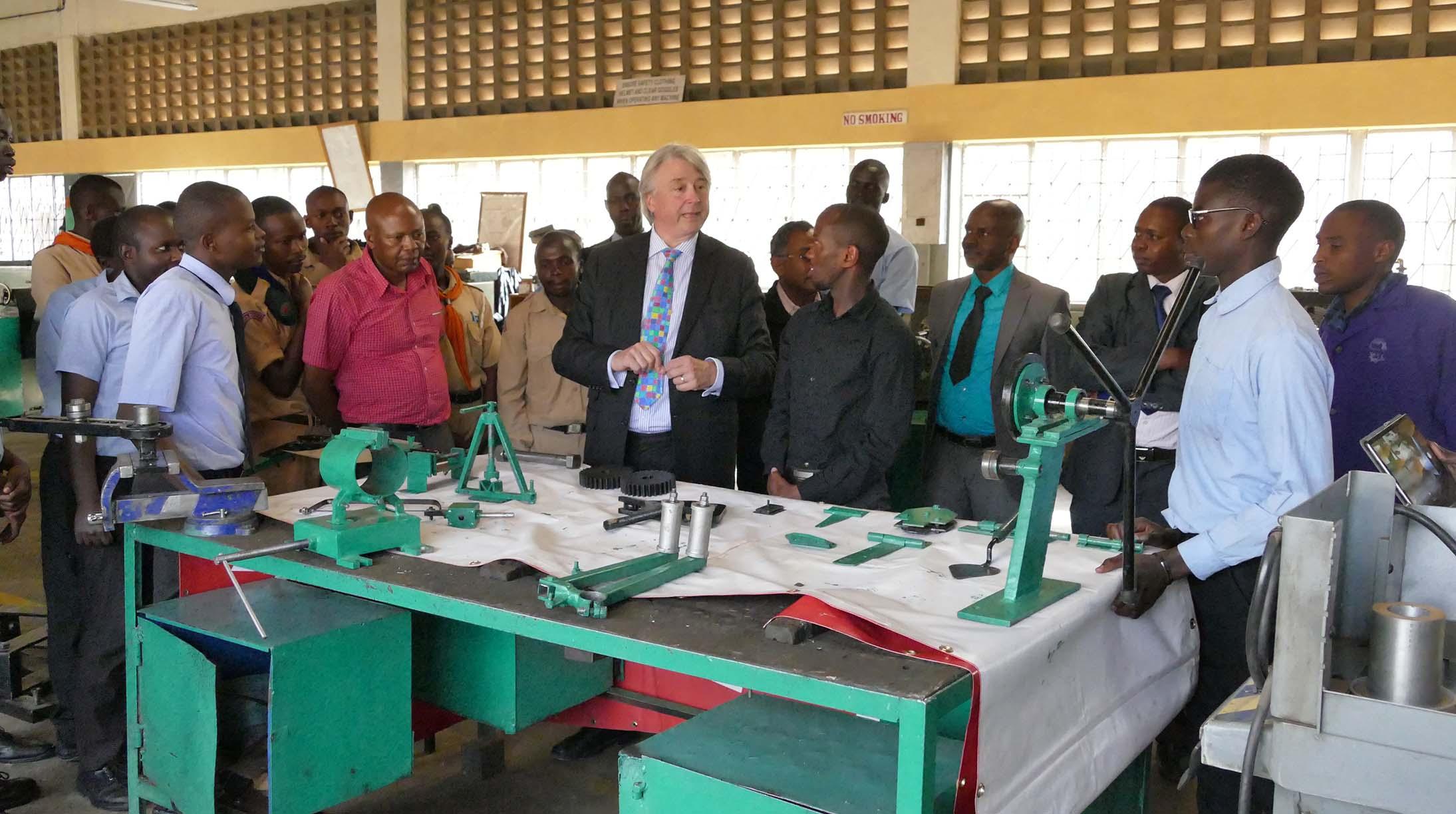 President Of WorldSkills International Visits Nairobi