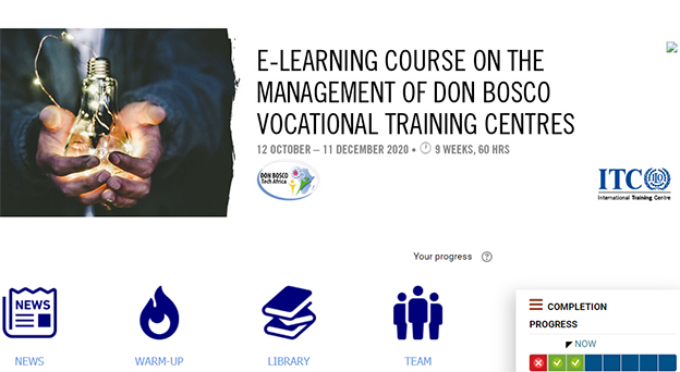 DBTECH AFRICA COLLABORATES WITH ITC-ILO TO TRAIN DON BOSCO TVET CENTER MANAGEMENT