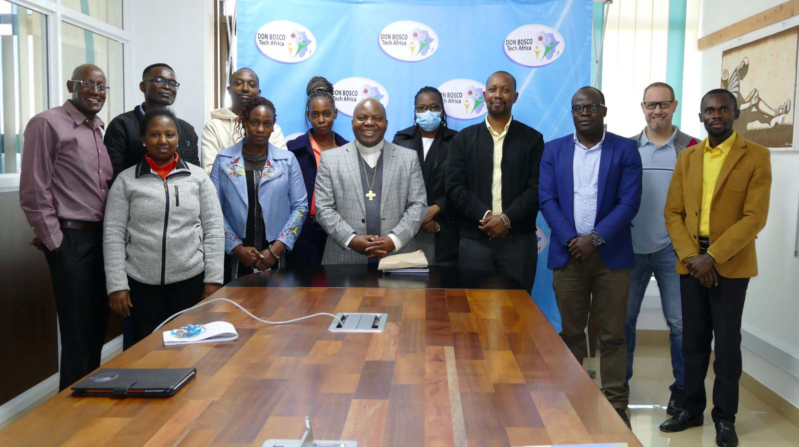 The Provincial Superior For The Salesian Province Of Eastern Africa (AFE) Meets With DBTech Africa Team