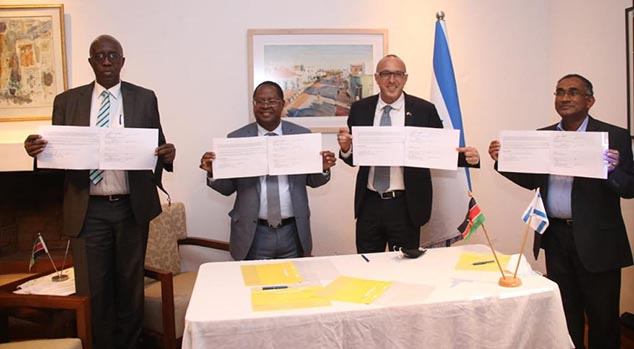 Israel-Kenya Don Bosco Agricultural Innovation And Technology Centre MoU Signing